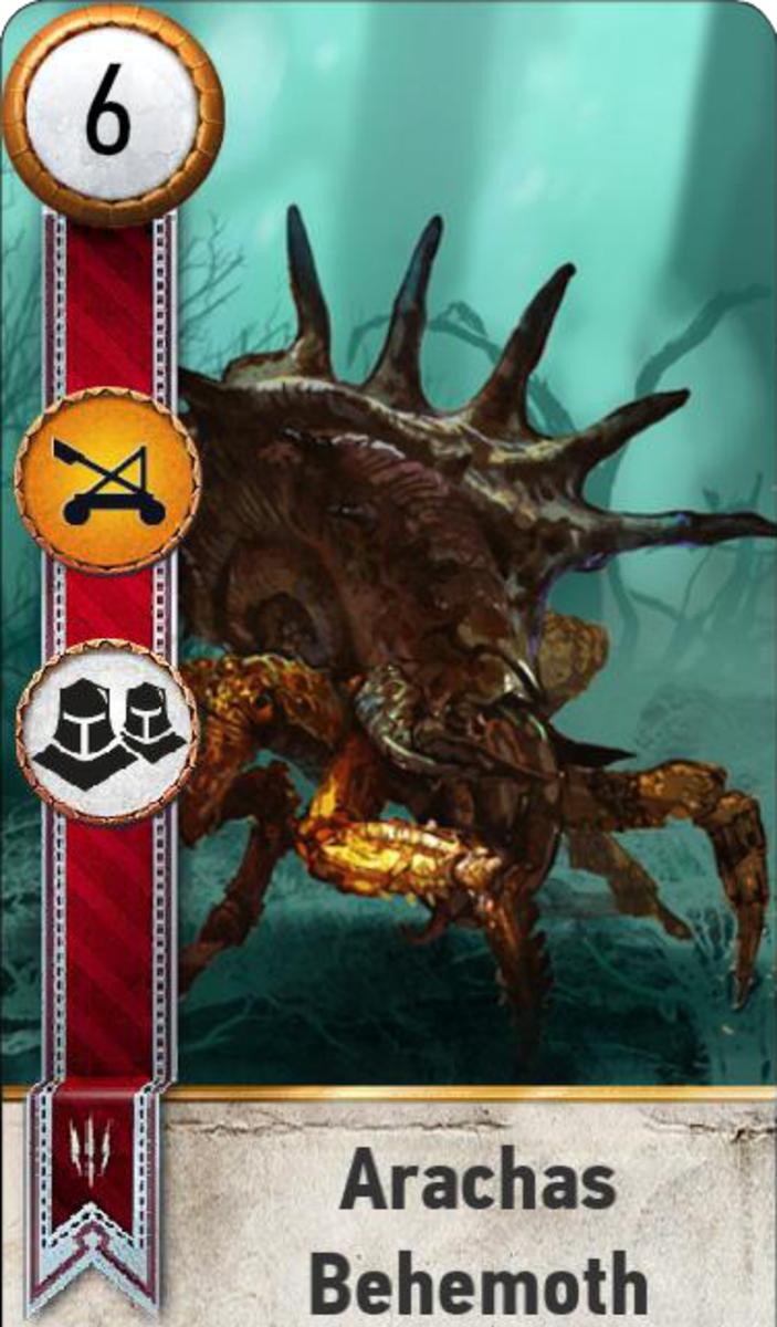 Arachas Behemoth Muster Card