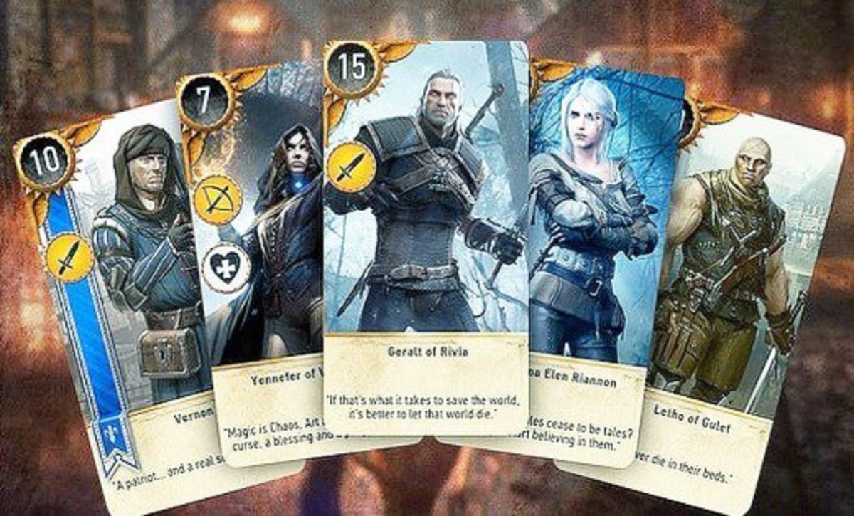 Hero Cards in Gwent