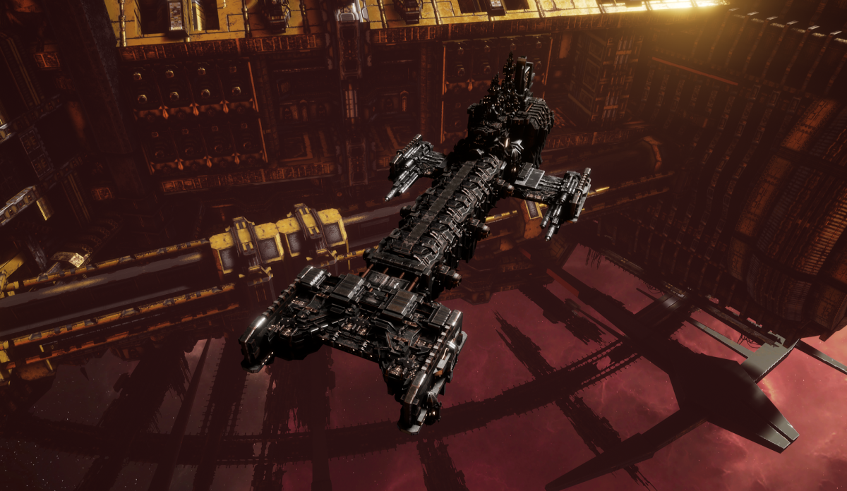 Adeptus Astartes Light Cruiser - Vanguard MK.I (Iron Hands Sub-Faction)
