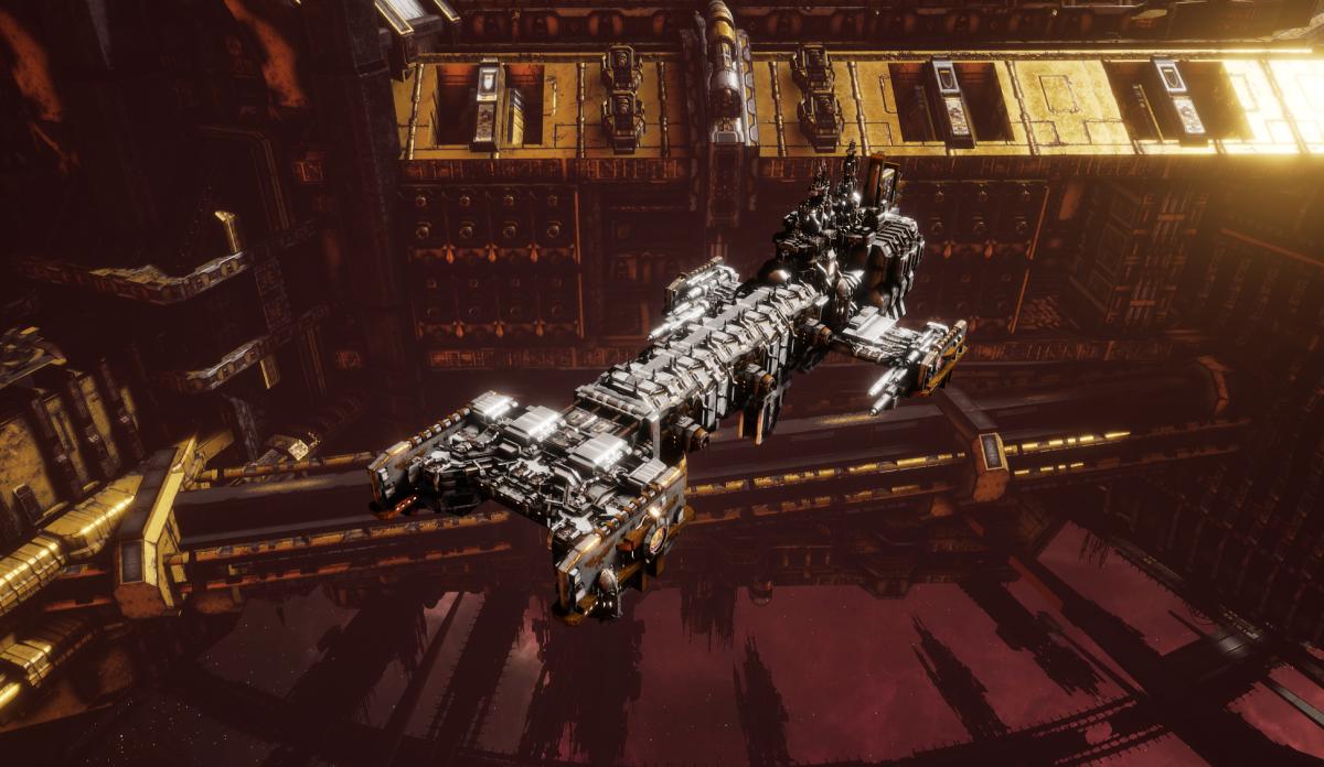 Adeptus Astartes Light Cruiser - Vanguard MK.I (White Scars Sub-Faction)