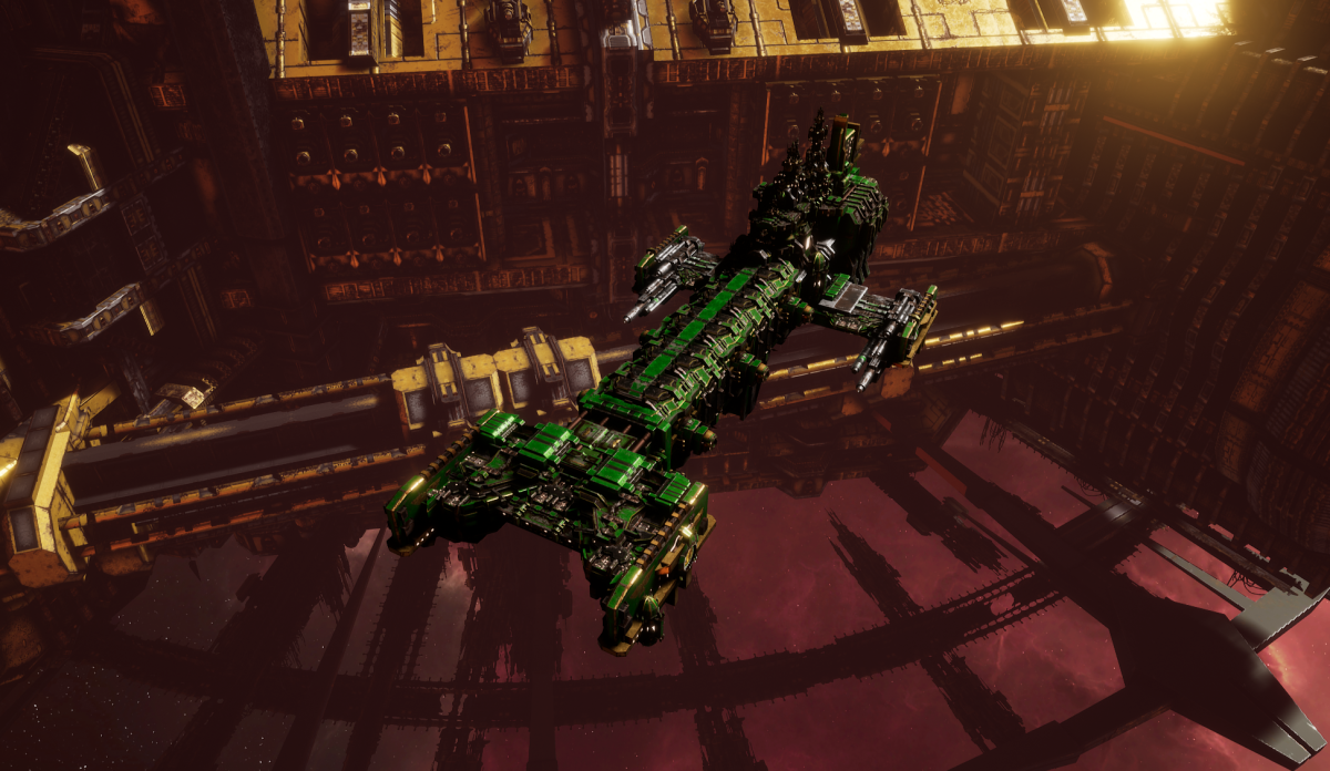 Adeptus Astartes Light Cruiser - Vanguard MK.I (Salamanders Sub-Faction)