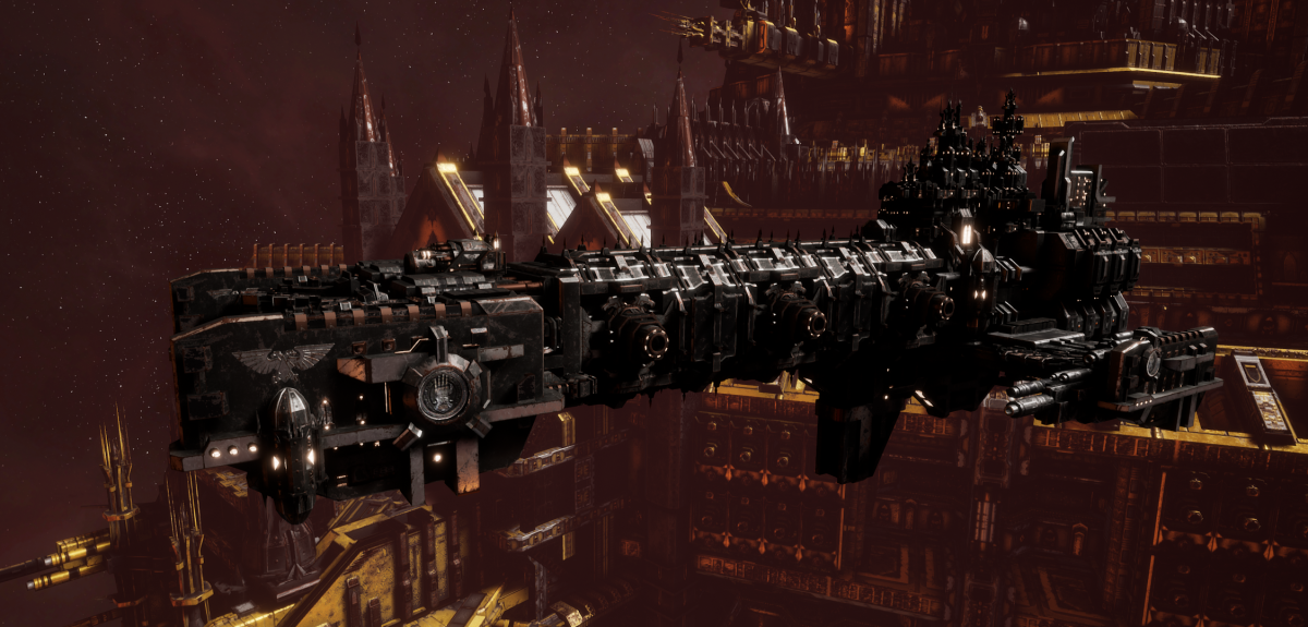 Adeptus Astartes Light Cruiser - Vanguard MK.III (Iron Hands Sub-Faction)