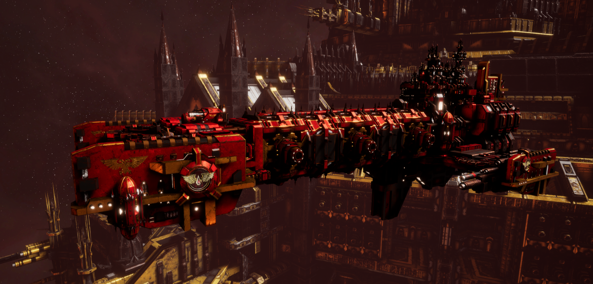 Adeptus Astartes Light Cruiser - Vanguard MK.III (Blood Angels Sub-Faction)