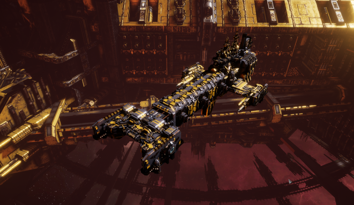 Adeptus Astartes Light Cruiser - Vanguard MK.I (Space Wolves Sub-Faction)