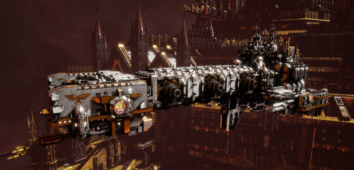 Adeptus Astartes Light Cruiser - Vanguard MK.II (White Scars Sub-Faction)