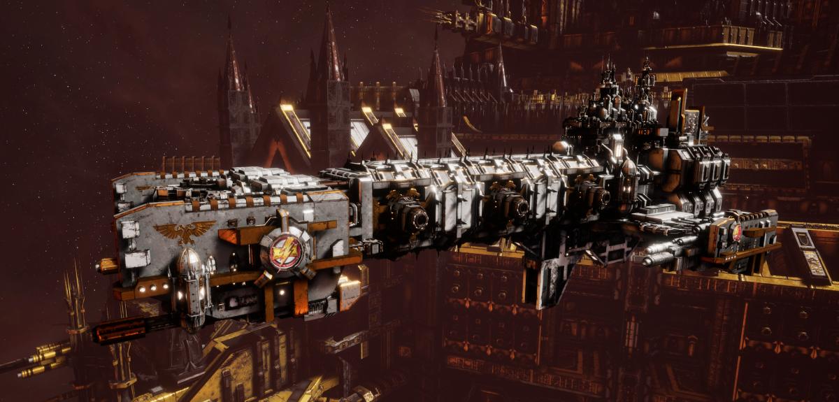 Adeptus Astartes Light Cruiser - Vanguard MK.II (White Scars Sub-Faction)