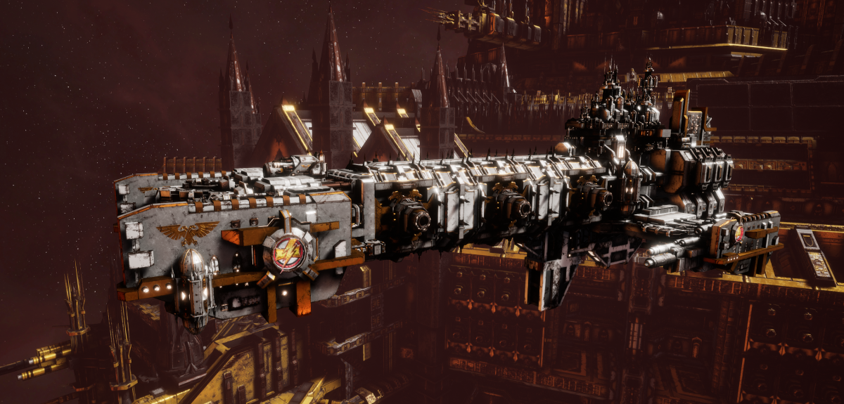 Adeptus Astartes Light Cruiser - Vanguard MK.III (White Scars Sub-Faction)