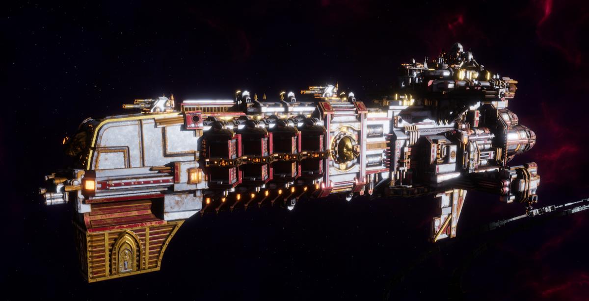 Adeptus Mechanicus Light Cruiser - Defiant (Metalica Faction)