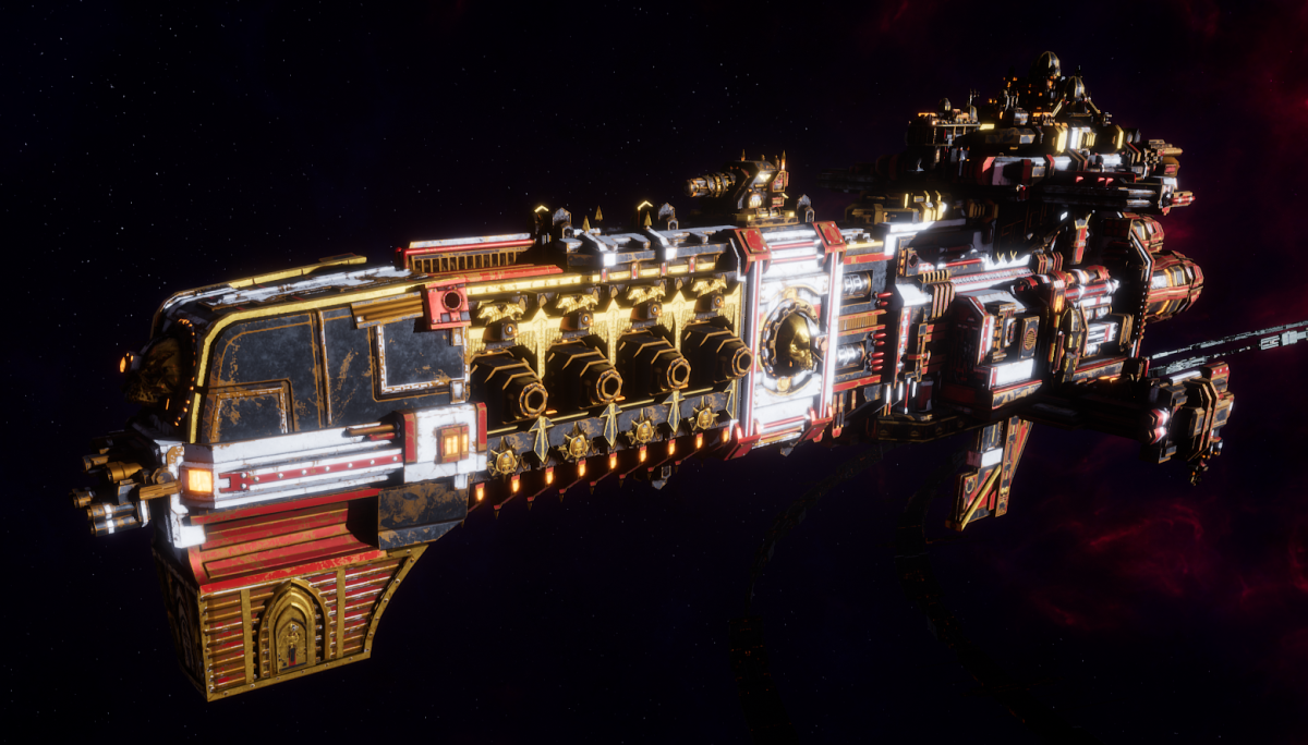Adeptus Mechanicus Light Cruiser - Endeavor (Agripinaa Faction)