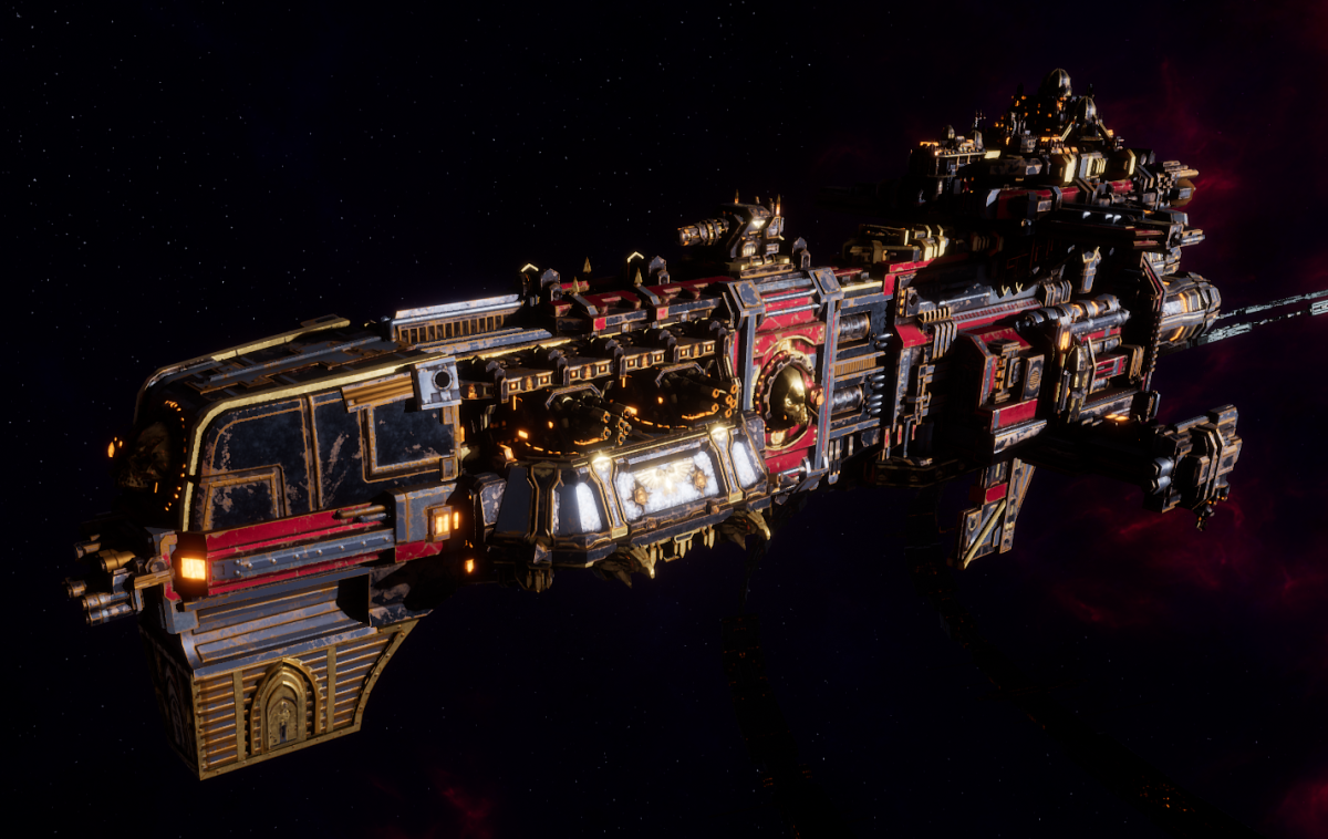 Adeptus Mechanicus Light Cruiser - Endurance (Mars Faction)