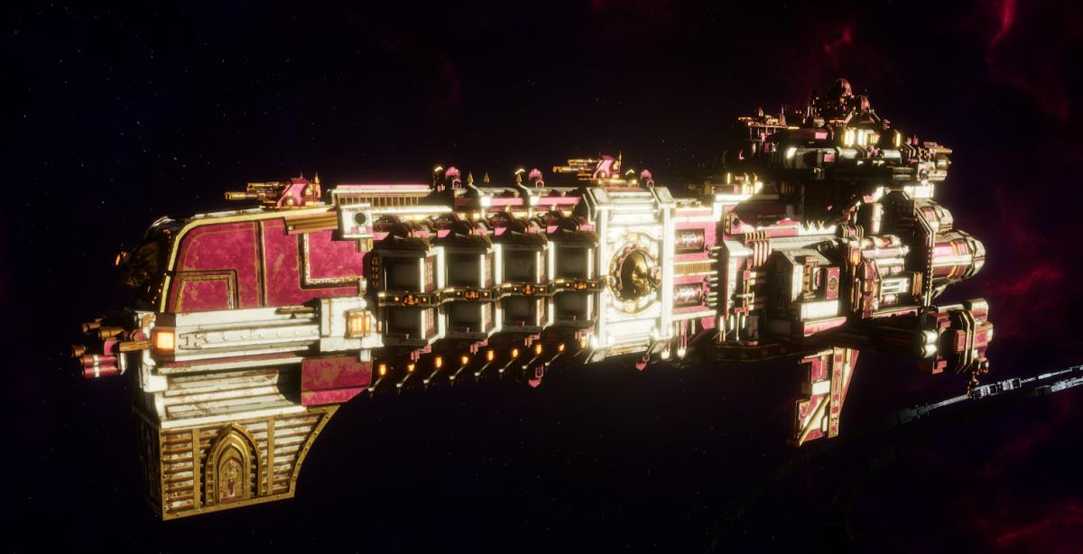 Adeptus Mechanicus Light Cruiser - Defiant (Graia Faction)