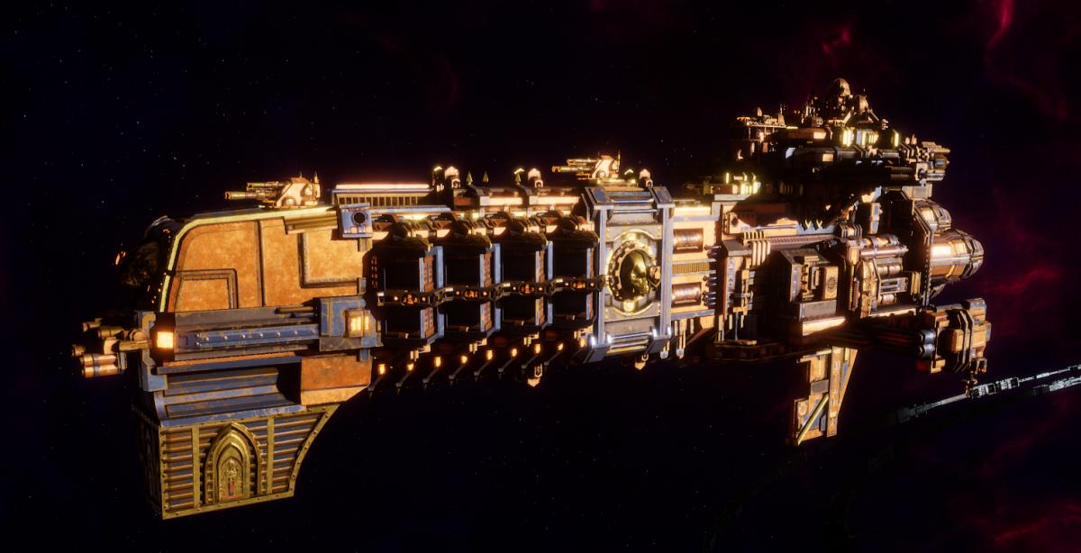 Adeptus Mechanicus Light Cruiser - Defiant (Ryza Faction)