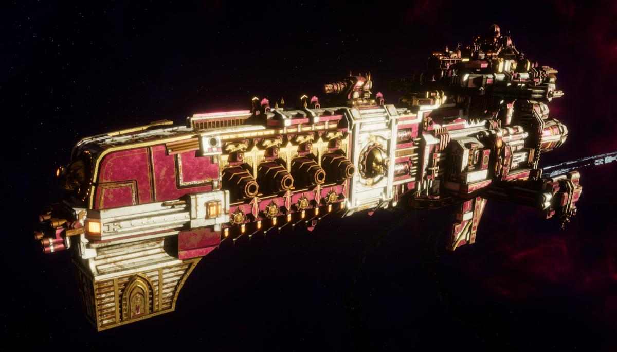 Adeptus Mechanicus Light Cruiser - Endeavor (Graia Faction)
