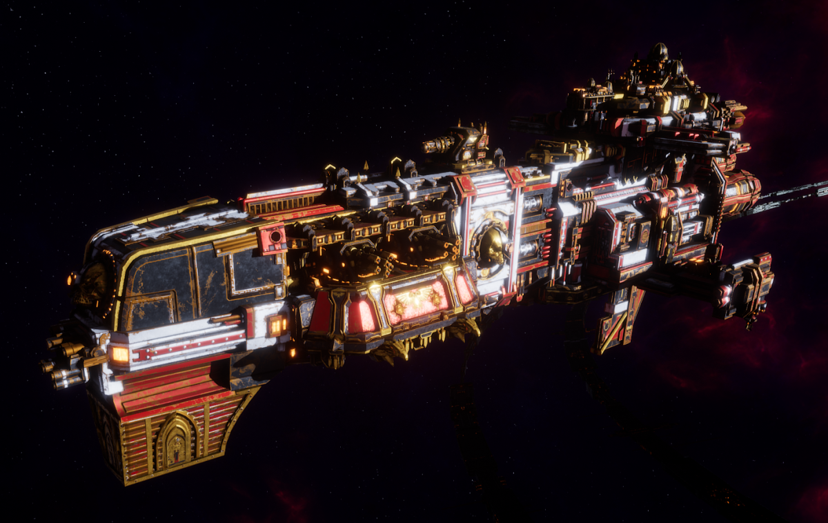 Adeptus Mechanicus Light Cruiser - Endurance (Agripinaa Faction)