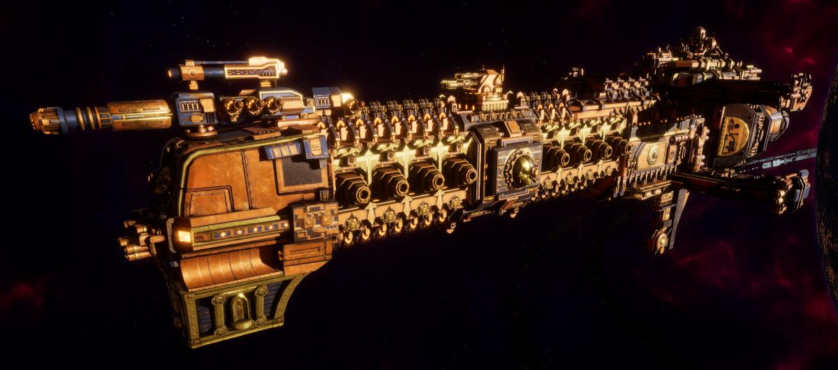Adeptus Mechanicus Cruiser - Tyrant (Ryza Faction)