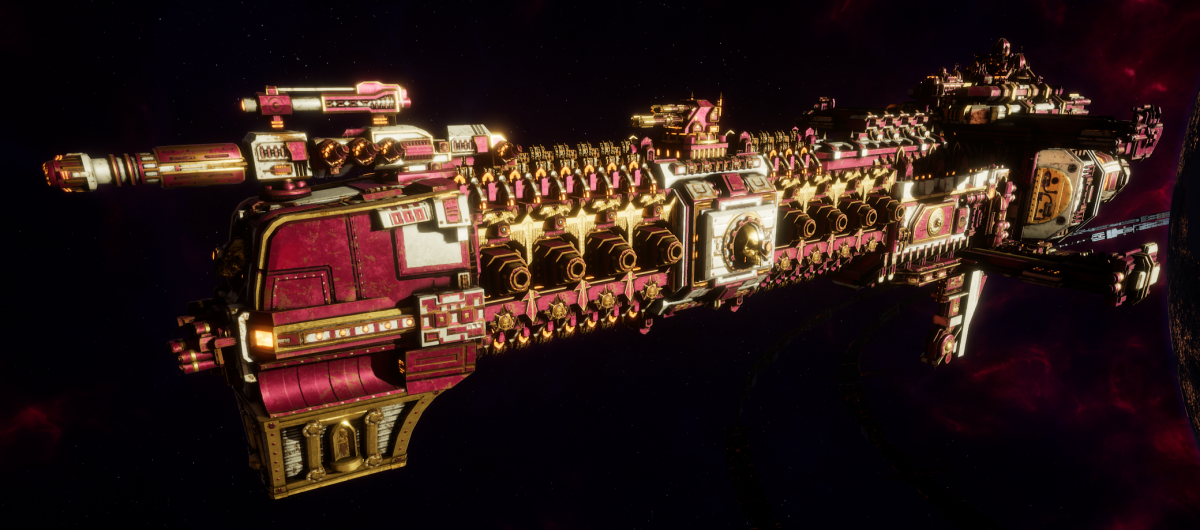Adeptus Mechanicus Cruiser - Tyrant (Graia Faction)