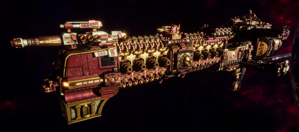 Adeptus Mechanicus Cruiser - Tyrant (Lucius Faction)