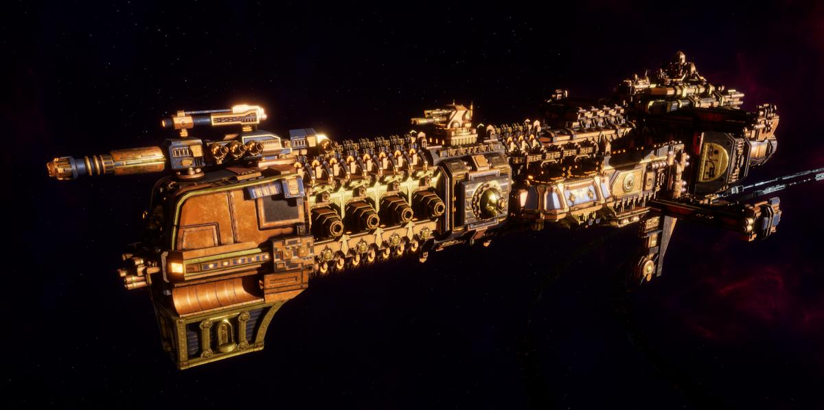 Adeptus Mechanicus Cruiser - Lunar (Ryza Faction)