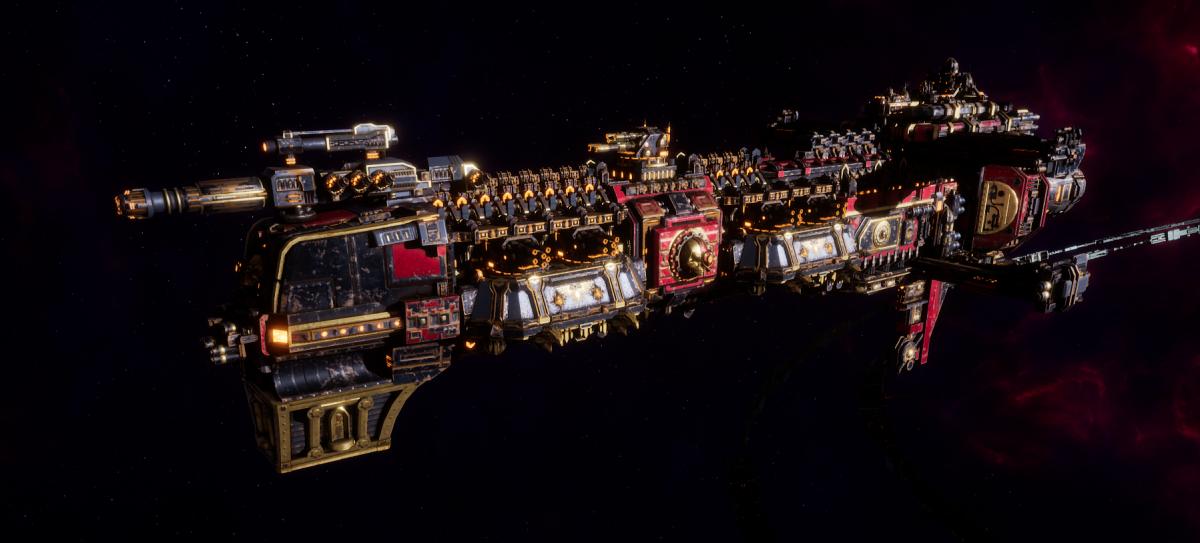 Adeptus Mechanicus Cruiser - Gothic (Mars Faction)