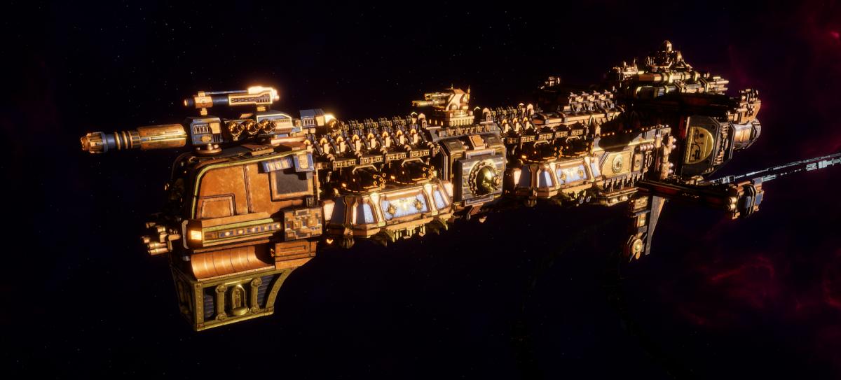 Adeptus Mechanicus Cruiser - Gothic (Ryza Faction)