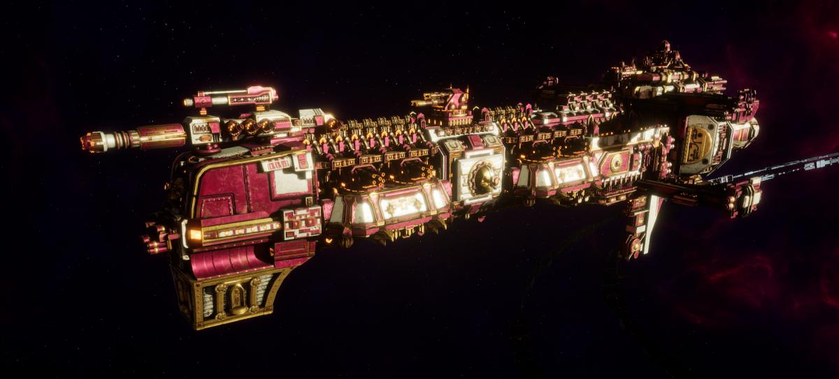 Adeptus Mechanicus Cruiser - Gothic (Graia Faction)