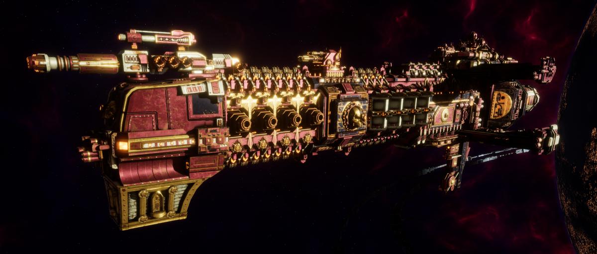 Adeptus Mechanicus Cruiser - Dictator (Lucius Faction)