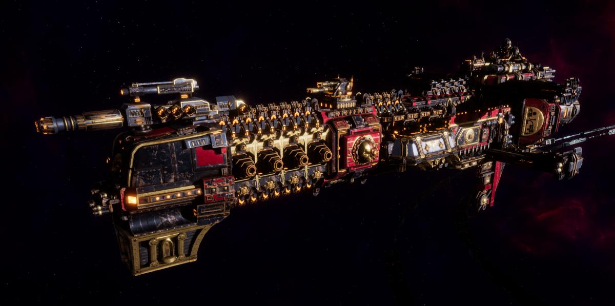 Adeptus Mechanicus Cruiser - Lunar (Mars Faction)