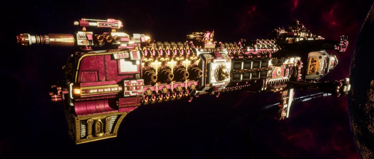 Adeptus Mechanicus Cruiser - Dictator (Graia Faction)