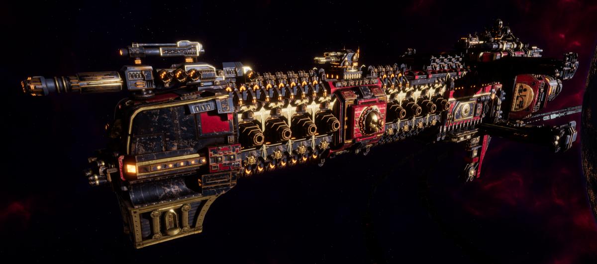 Adeptus Mechanicus Cruiser - Tyrant (Mars Faction)