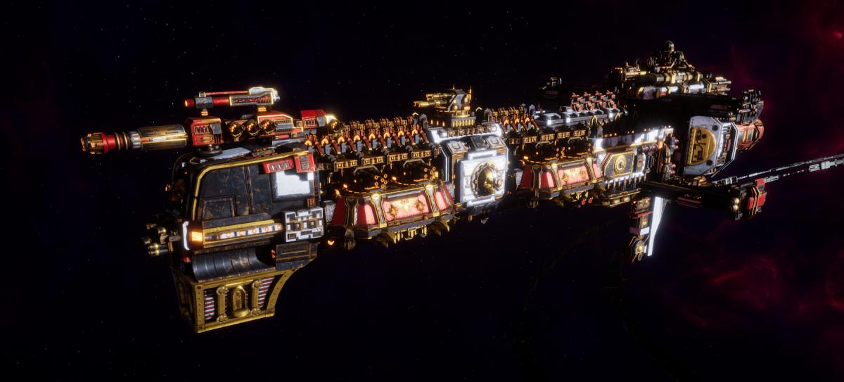 Adeptus Mechanicus Cruiser - Gothic (Agripinaa Faction)
