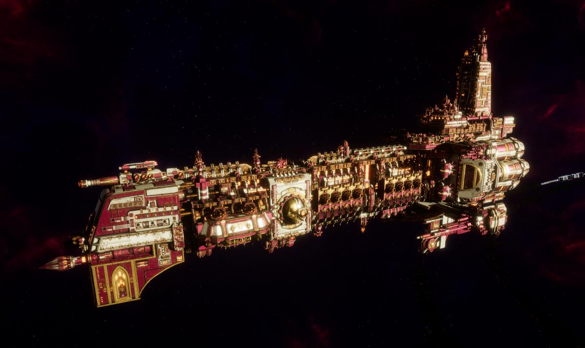 Adeptus Mechanicus Battleship - Ark Mechanicus (Graia Faction)