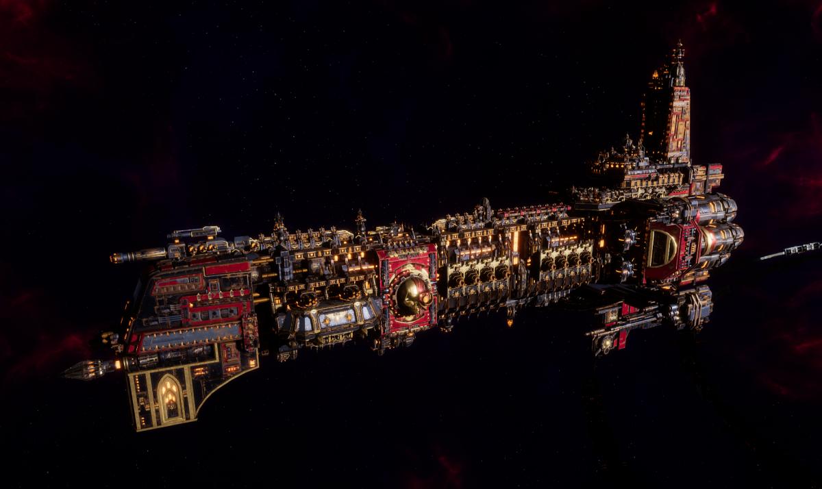 Adeptus Mechanicus Battleship - Ark Mechanicus (Mars Faction)