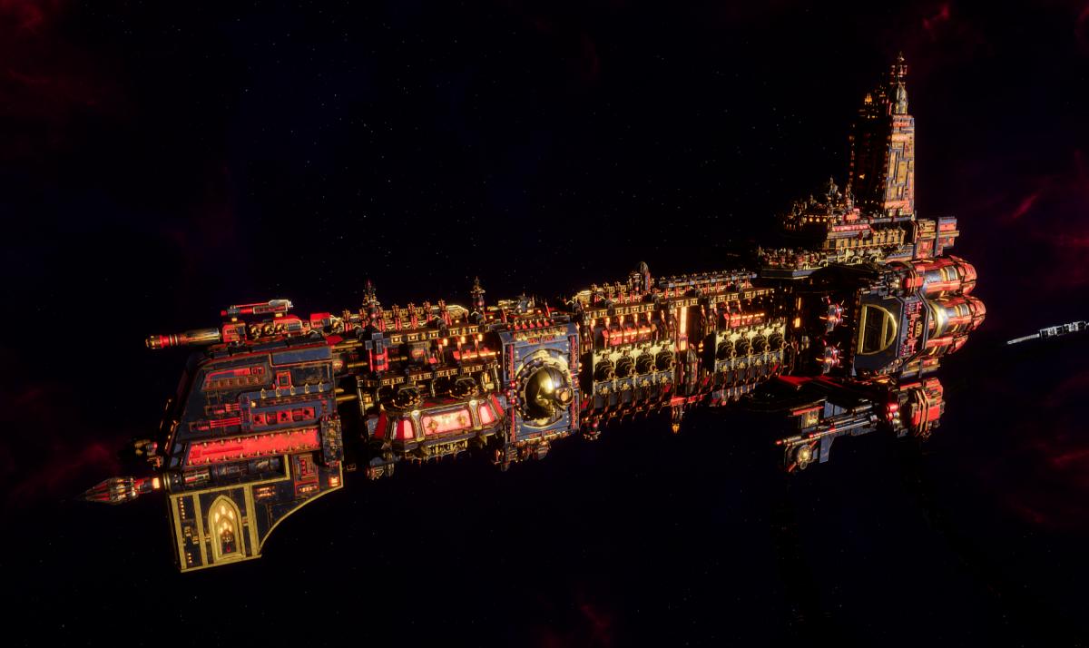 Adeptus Mechanicus Battleship - Ark Mechanicus (Stygies VIII Faction)