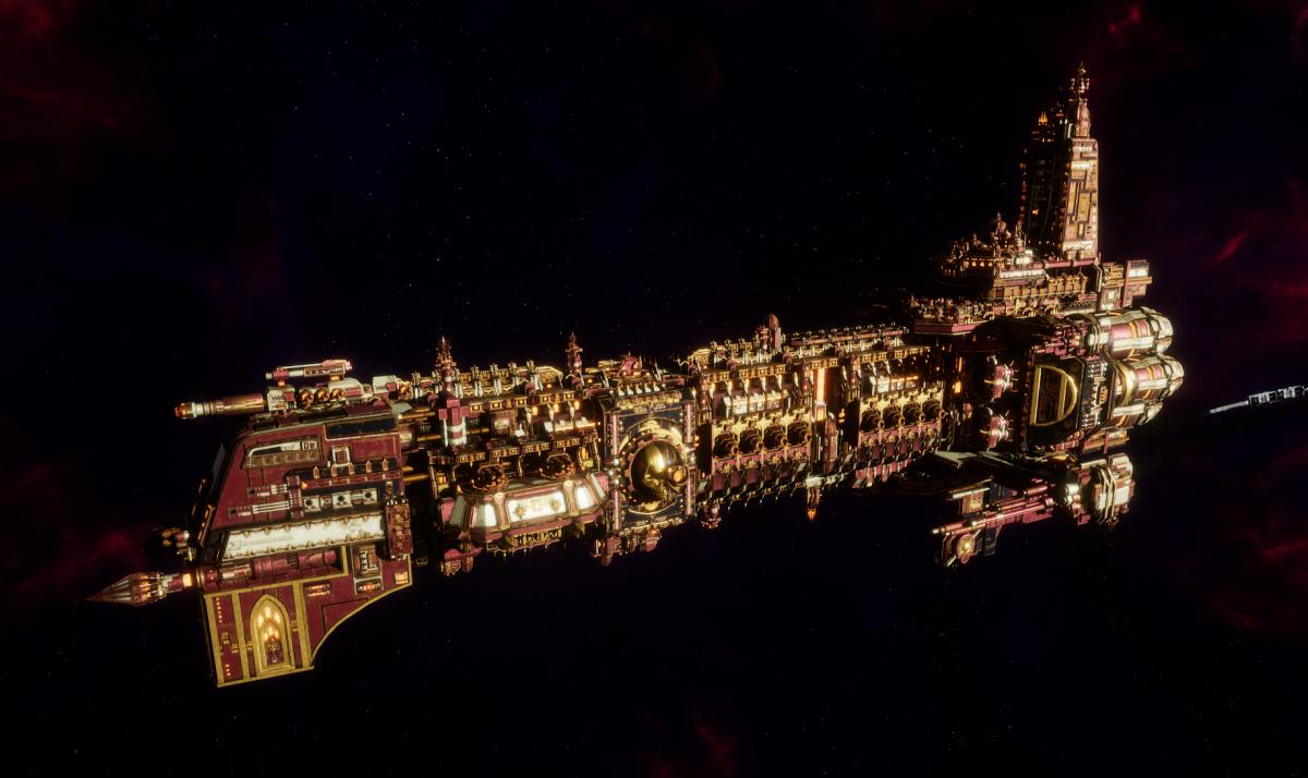 Adeptus Mechanicus Battleship - Ark Mechanicus (Lucius Faction)