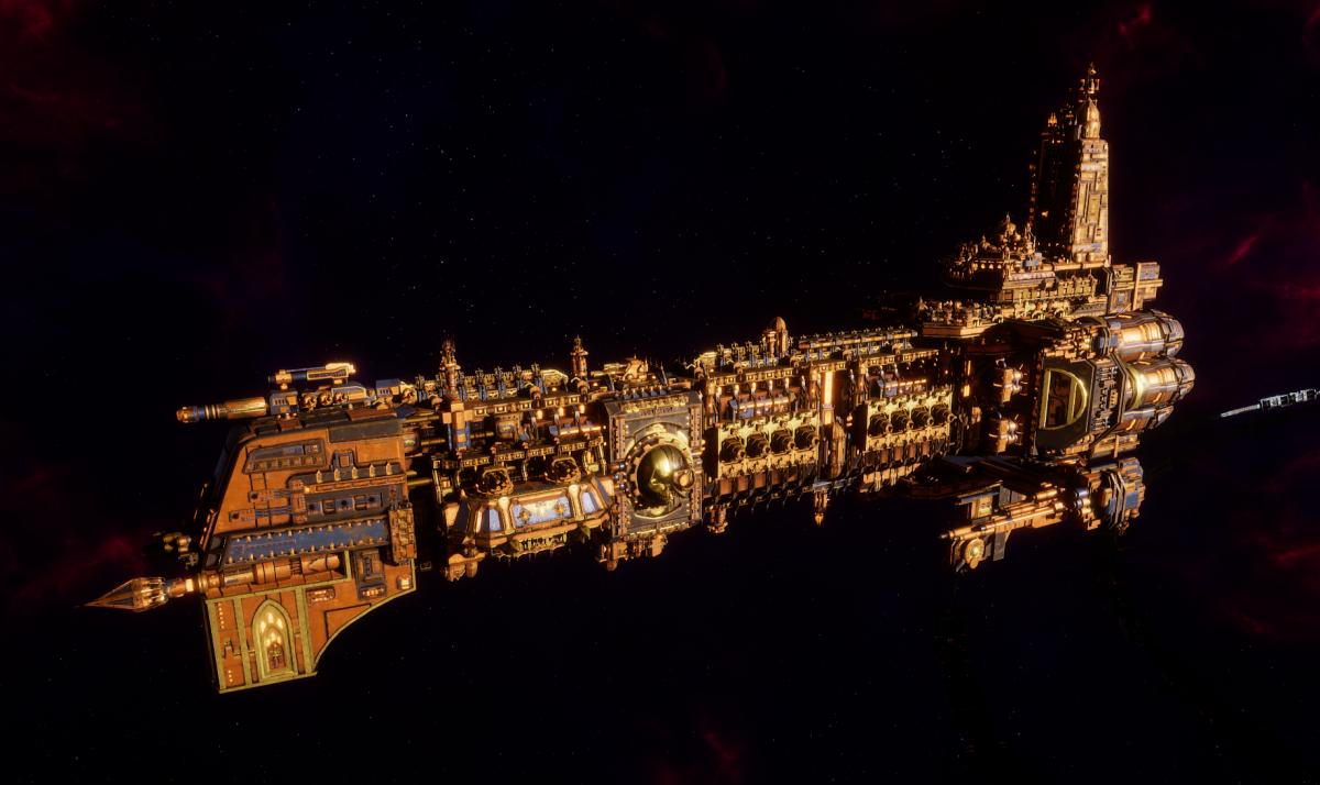 Adeptus Mechanicus Battleship - Ark Mechanicus (Ryza Faction)