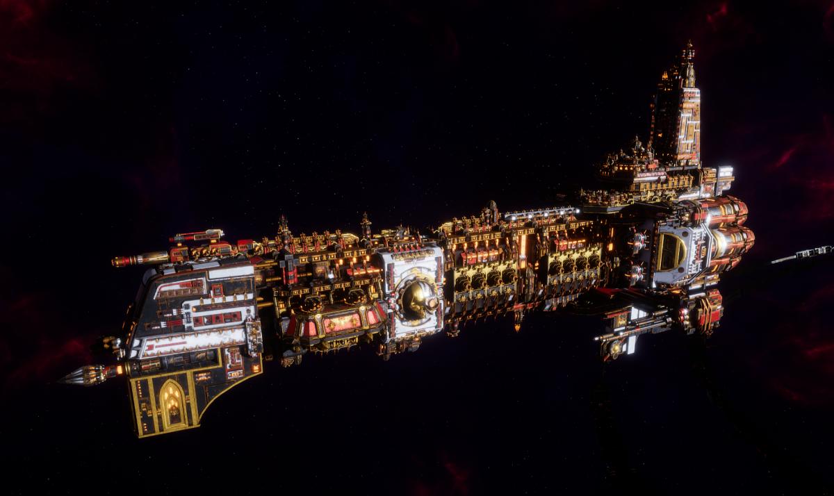 Adeptus Mechanicus Battleship - Ark Mechanicus (Agripinaa Faction)