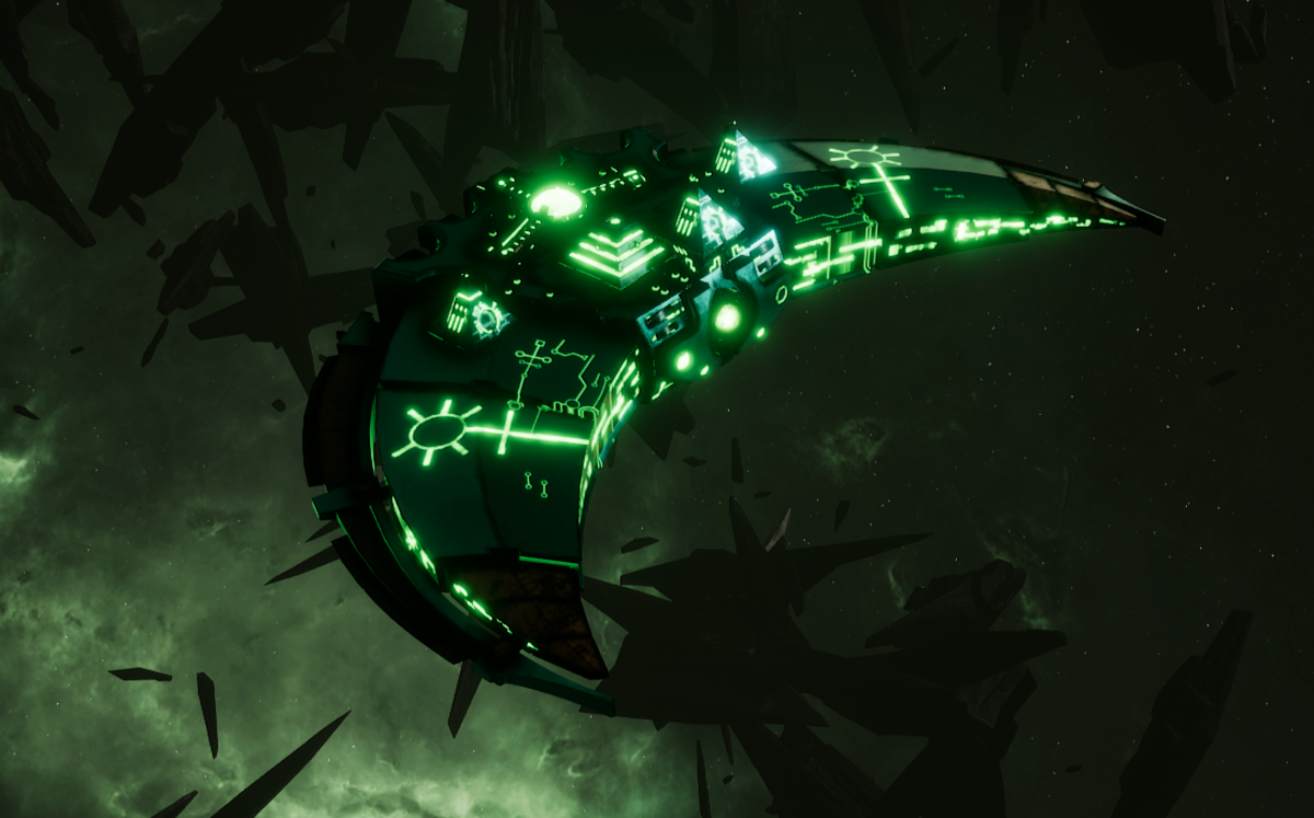 Necron Destroyer - Dirge (Nihilakh Sub-Faction)