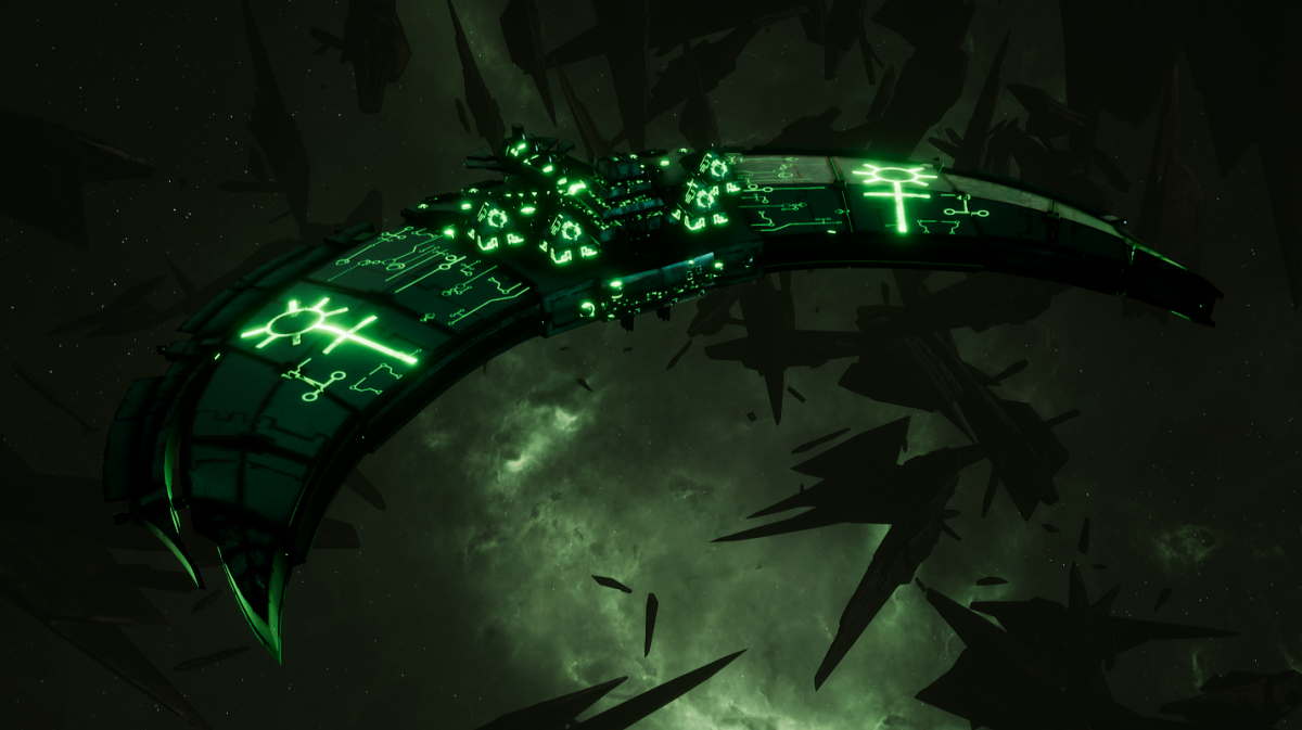 Necron Frigate - Jackal (Nihilakh Sub-Faction)