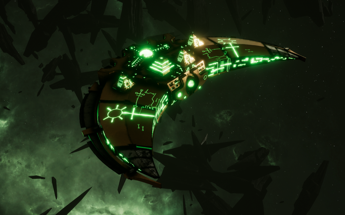 Necron Destroyer - Dirge (Nephrekh Sub-Faction)