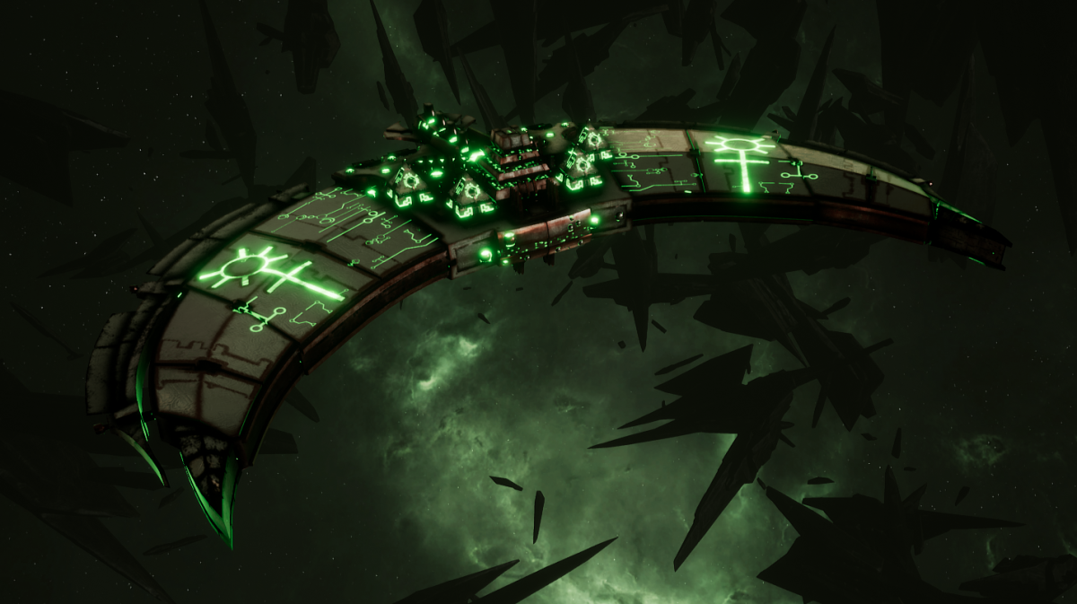 Necron Frigate - Jackal (Sautekh Sub-Faction)