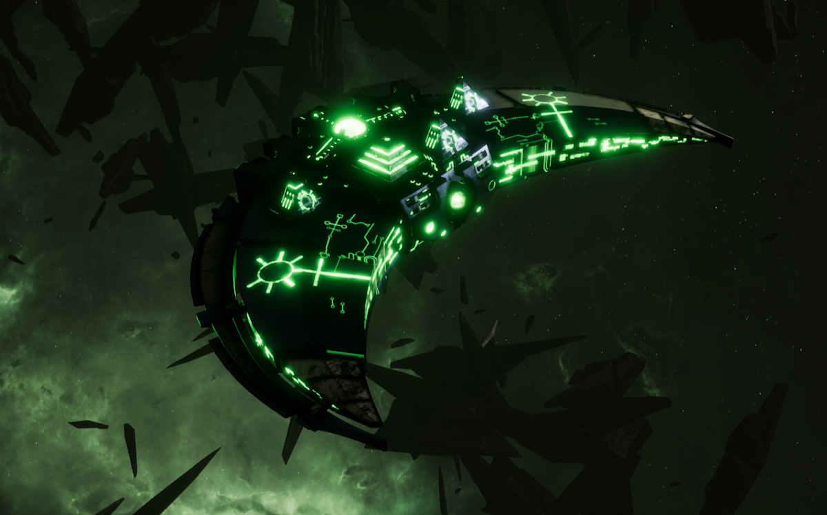Necron Destroyer - Dirge (Charnovokh Sub-Faction)