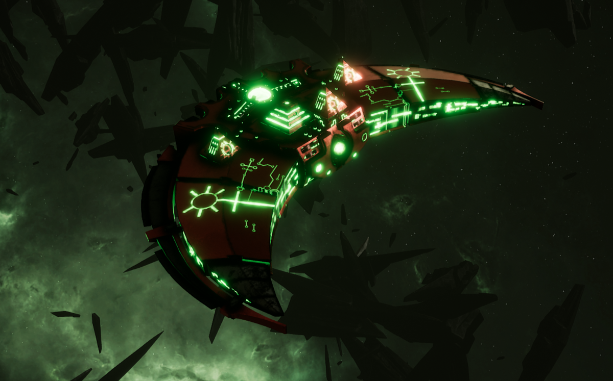 Necron Destroyer - Dirge (Novokh Sub-Faction)