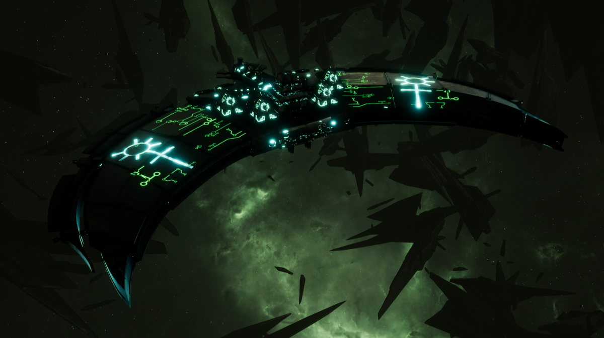 Necron Frigate - Jackal (Thokt Sub-Faction)