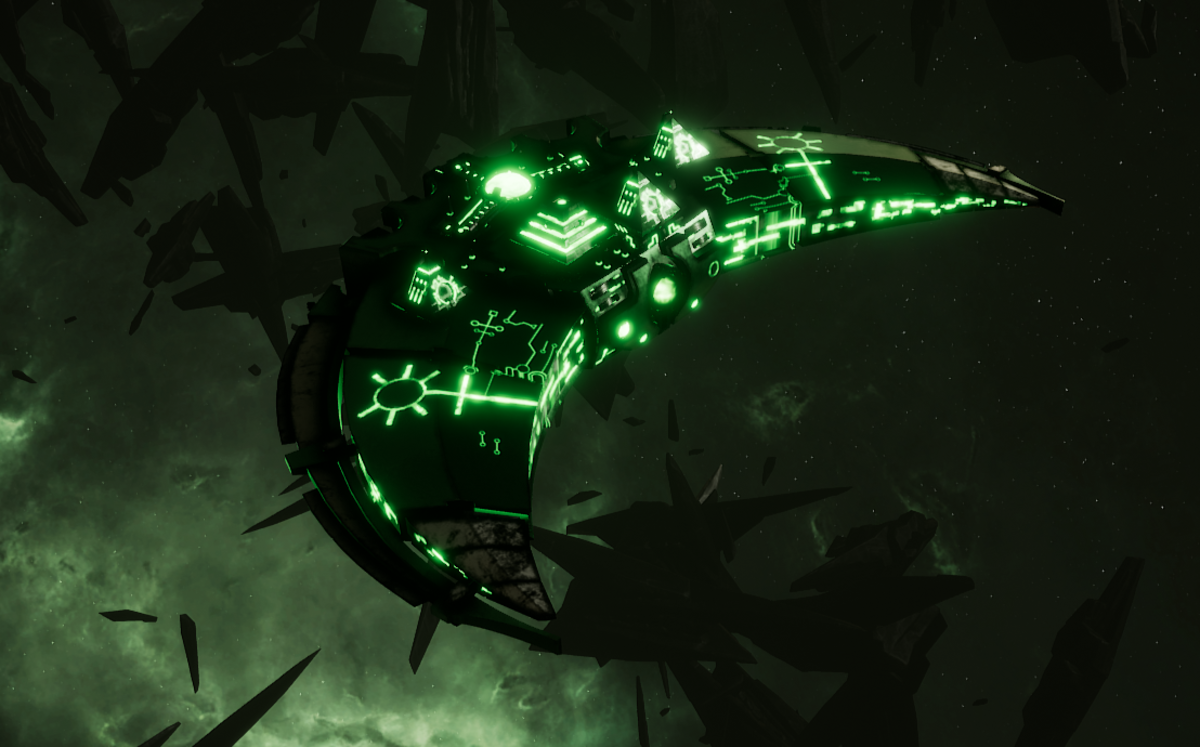 Necron Destroyer - Dirge (Temeryn Sub-Faction)