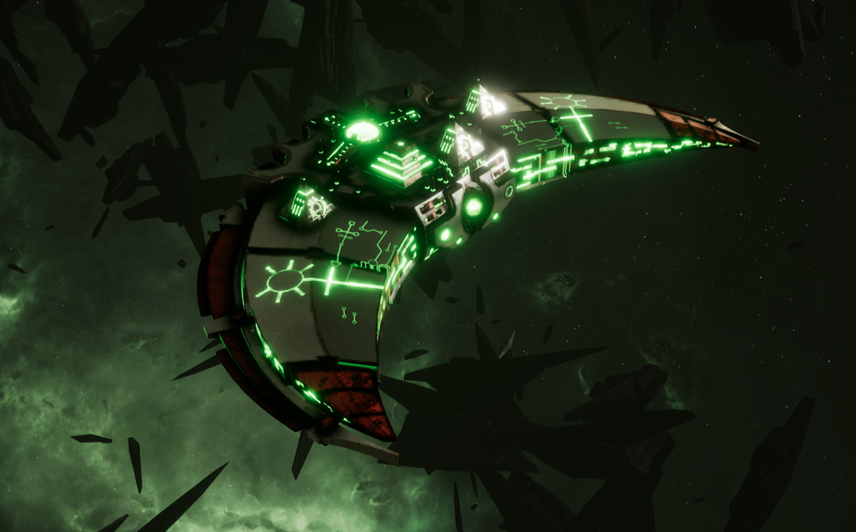 Necron Destroyer - Dirge (Sautekh Sub-Faction)
