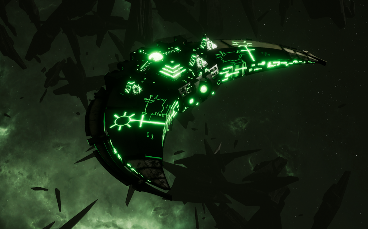 Necron Destroyer - Dirge (Nepheru Sub-Faction)