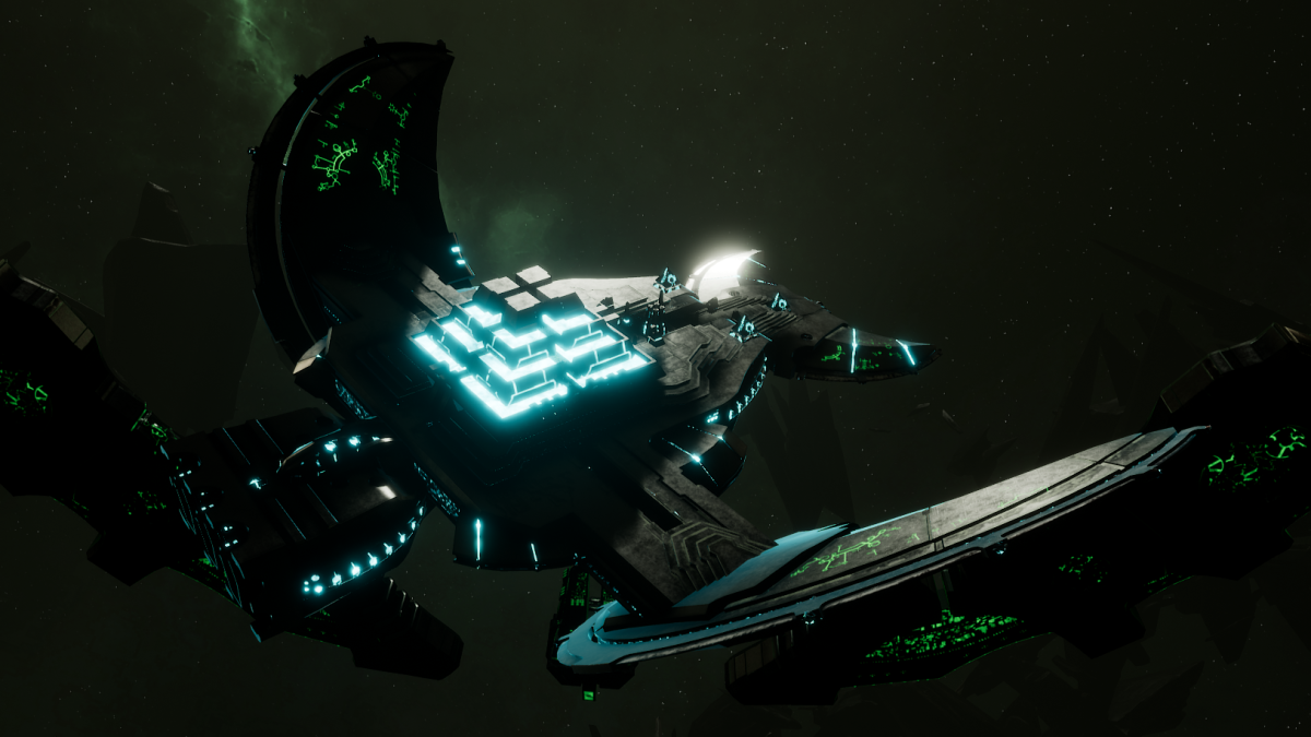 Necron Light Cruiser - Khopesh (Thokt Sub-Faction)