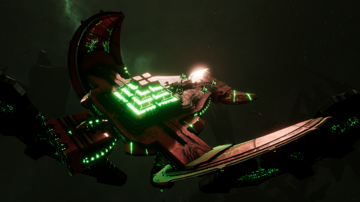 Necron Light Cruiser - Khopesh (Novokh Sub-Faction)