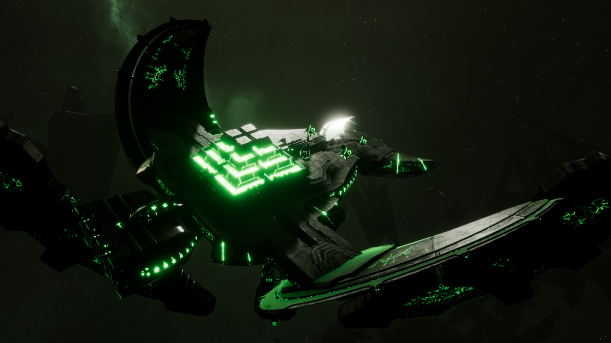 Necron Light Cruiser - Khopesh (Nepheru  Sub-Faction)