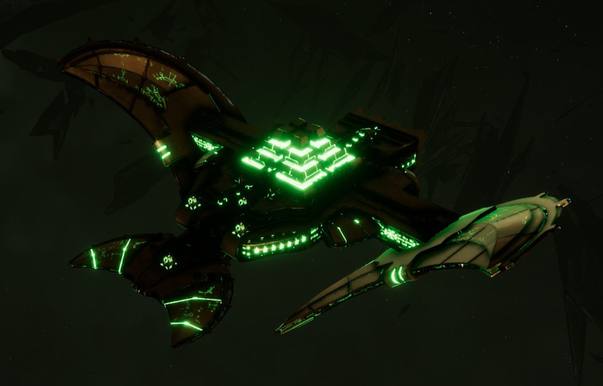 Necron Light Cruiser - Sekhem (Nephrekh Sub-Faction)